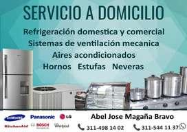 Servicio Técnico en Refrigeración y otros