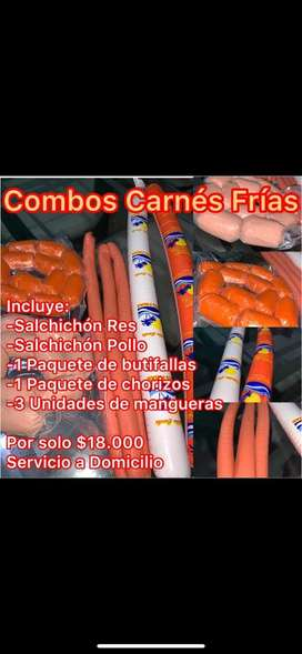 Oferta combos Carnes Caribe