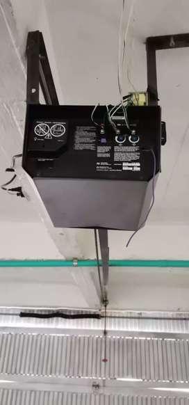 Portones y motores eléctricos