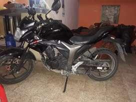 Moto gixxer cilindrage 155 suzuki