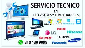 SERVICIO TÉCNICO DE TELEVISORES & COMPUTADORES