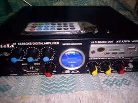 """Karaoke Digital Amplifier """" TELI"""""""