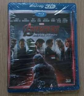 3D Avengers la era ultrón pelicula Original Bluray ¡Nueva!
