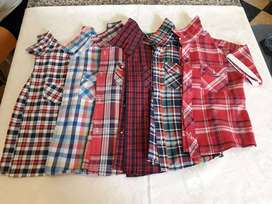 8 Camisas para niño talle 4,5 y 6