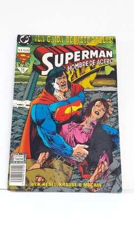 Comic Superman El Hombre De Acero No 11- Edición Especial- Nueva