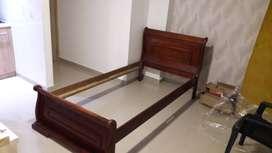 Vendo cama madera 1,00 x 1,90 NEGOCIABLE