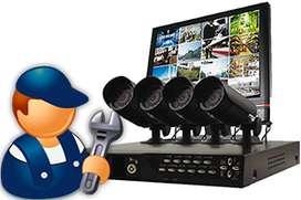 Suministro, Instalacion y Configuracion de camaras de seguridad Full HD. Venta De Kits Nuevos Y usados a buen precio