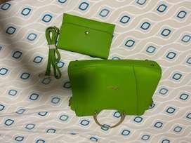 Bolso verde para dama