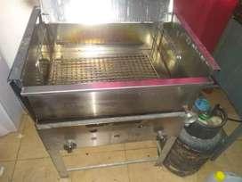 Freidora sol real 35 litros industrial