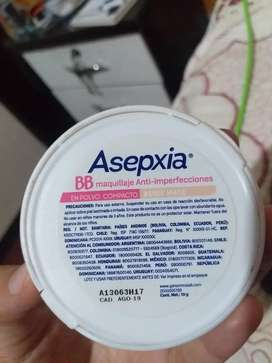 Polvo asepxia beige mate