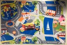 Tapete de juego de tráfico