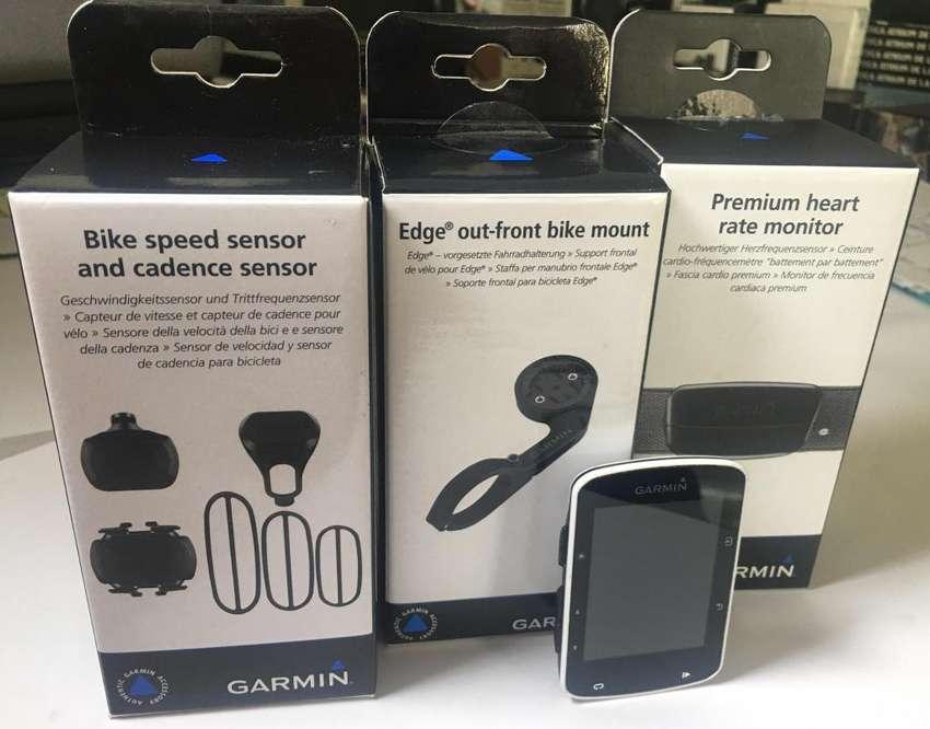 GARMIN EDGE 520 GPS CON SENSORES TOPE DE GAMA Y ACCESORIOS 0
