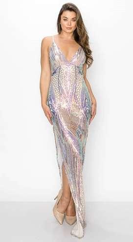 Alquiler de vestidos  largos  para dama de gala y  noche para toda ocasión