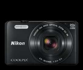 Cámara Nikon Coolpix S7000 Negro, 16mp