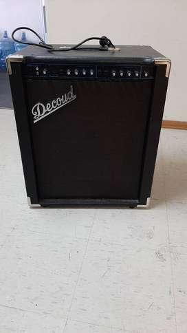 Amplificador Decoud MO-120 múltiple conexiones
