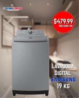 LAVADORA SAMSUNG 19kg