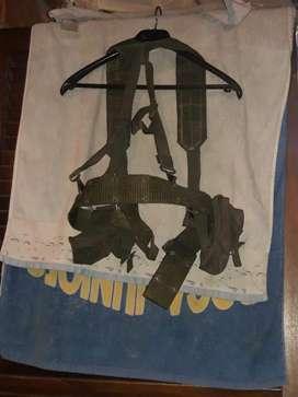 Antiguo Cinturon Mas Arnes Militar