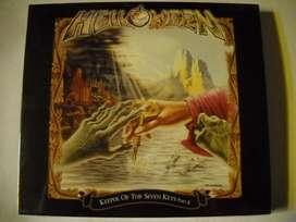 helloween keeper on the seven keys part. ll 2 cd slipcase sellado