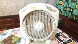Turbo ventilador funciona