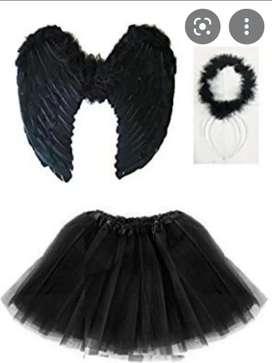 Disfraz Ángel Negro 10 de 10