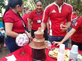 Alquilo  maquinas chocolates en la ciudad villavicencio