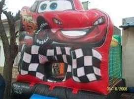 Inflable de Cars