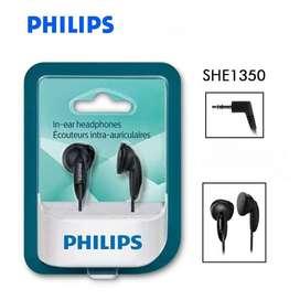Auriculares Philips Intrauditivos She1350/00 In Ear sin Micrófono
