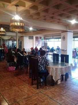 """VENDO CAFETERIA-RESTAURANT """"CAFE Y BOLON """"con excelente clientela comprobable ubicada en sector estratégico de Latacunga"""