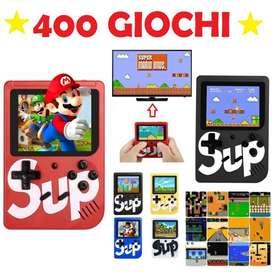 Mini Consola Sup Retro con 400 Juegos