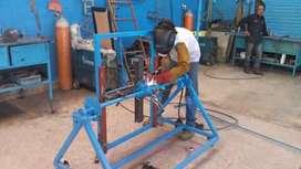 Se hace trabajos de cerámica  y extructura metalica