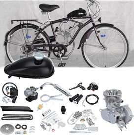 Kit Motor 2 Tiempos A Gasolina Para Bicicleta