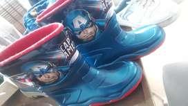 Botas de lluvia Capitán American