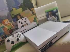 Xbox one s poco uso