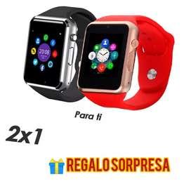 Duo reloj inteligente tipo iPhone