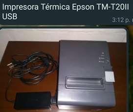 Se Vende Impresora Termica Epson TM-T20II USB