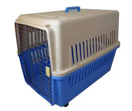 Kennel Transportador L90 Piso Impermeable Cumple Iata