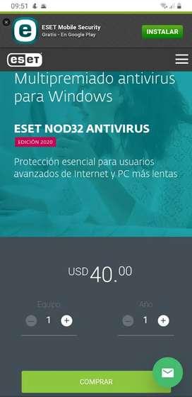 Licencia de ESET NOD32