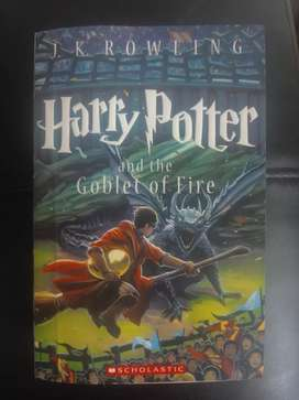 Libro de Harry Potter and the globet of fire