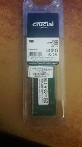 Memoria RAM Crucial 4GB