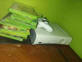 Xbox 360  con 11 juegos físicos