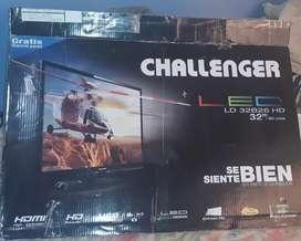 Televisor challenger 32 pulfadas NO SMART TV