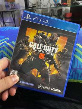 Call of duty black ops 4 juego playstation PS4