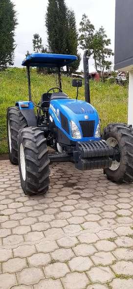 Vendo tractor New Holland año 2017