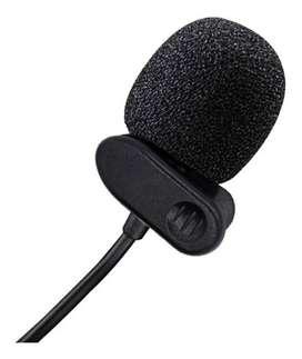Microfono solapa Jack 3.5 celular con estuche