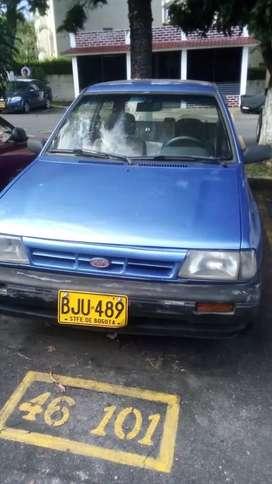 Kia  color azul 1998