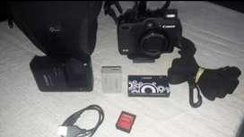Ideal fotografia camara canon +bolso +accesorios traida de afuera