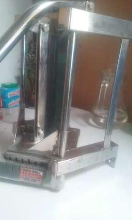 Picador de papas inox