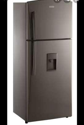 Refrigeradora cromada nueva