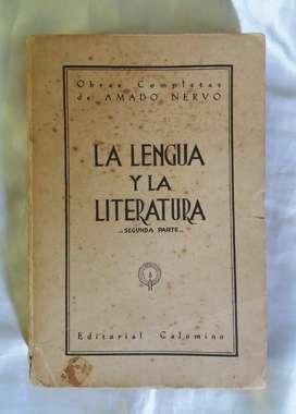 La Lengua Y La Literatura Amado Nervo