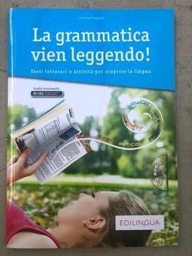 La grammatica vien leggendo - libro italiano